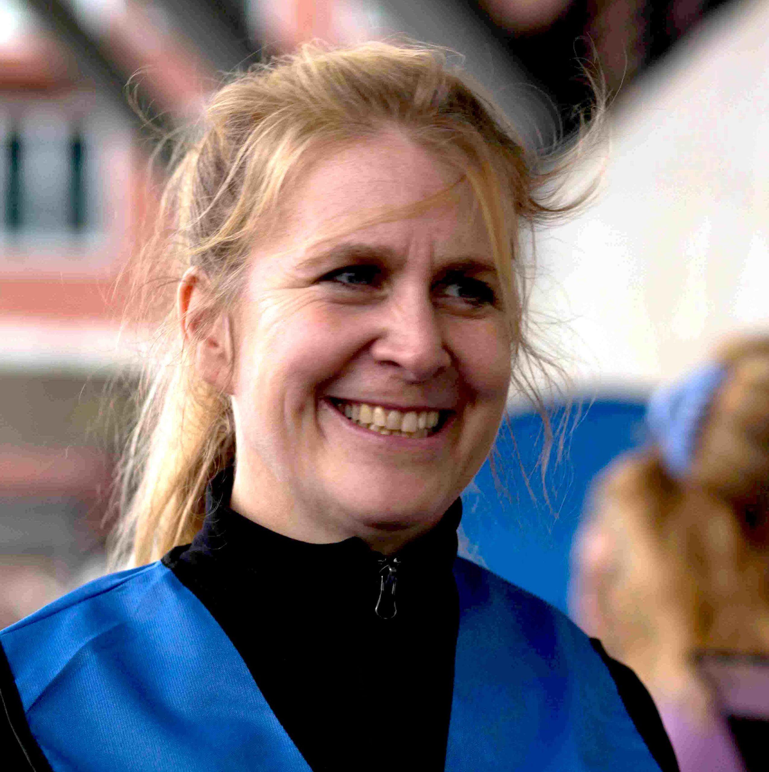 Silke Warm, Fotografin und Geschäftsführerin der charismanufaktur